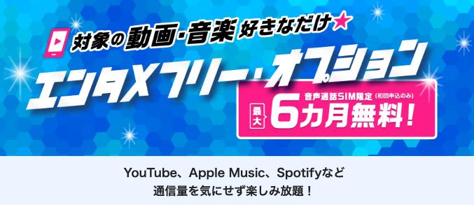 【ケース①】動画・音楽利用が多い!いつでも高速通信したい!