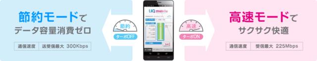 UQモバイルポータルアプリで高速・低速を切り替え!