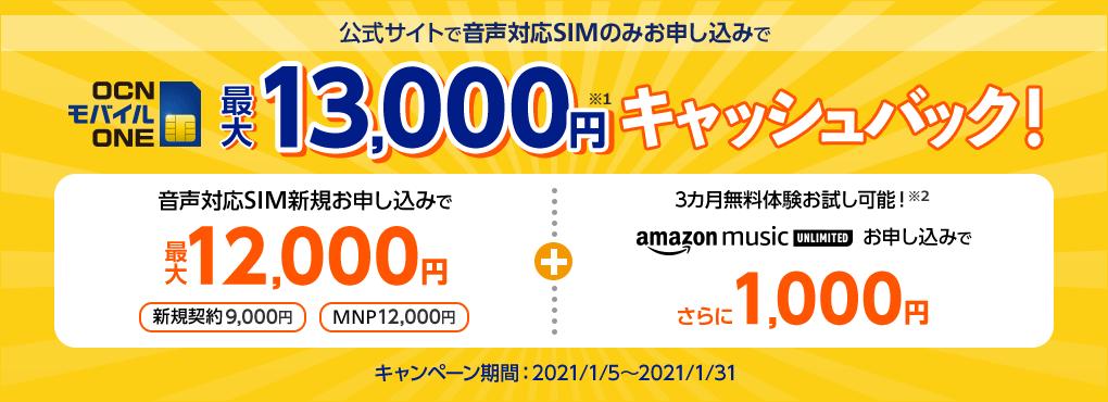 【実施中】13,000円キャッシュバック✨キャンペーン